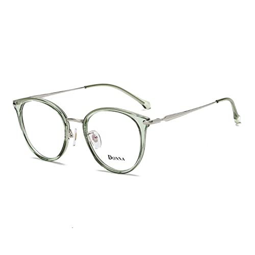 0477ee732651 Donna Vintage Fashion Eyeglass Round Frame Unisex Computer Reading Glasses  DN48