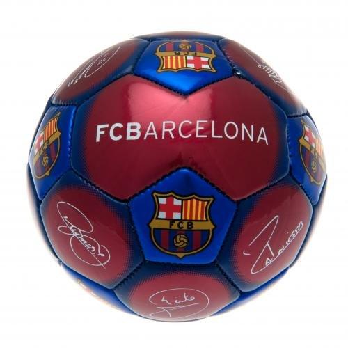 F.C. Barcelona Skill Ball SIGNATURE- synthetischen FOOTBALL- Größe 32 1- Voile-Vorhang, offizielles Lizenzprodukt