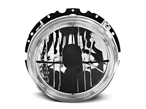 Shop Import koplamp Golf 1 74-83 Angel Eyes chroom kruis zwart (WH3)