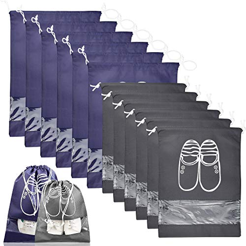 12 Piezas Bolsas de Zapatos Impermeable Bolsa a Prueba de Polvo Zapatos...