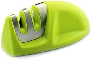 Gankmachine Afilador Cuchillos Profesional Afilador Cuchillos,Herramienta Manual de Afilado de Cuchillas de 2 Etapas (cerámica Diamond) con Base Antideslizante para Cuchillos de Todo tamaño del hogar