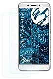 Bruni Schutzfolie kompatibel mit Asus ZenFone 3 Laser Folie, glasklare Bildschirmschutzfolie (2X)