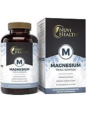 Magnesium complex - 240 capsules - 375 mg elementair magnesium per dagelijkse dosis - magnesiumbisglycinaat, magnesiumcitraat, magnesiummalaat - veganistisch - hoge dosis - laboratorium getest