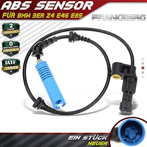 ABS Sensor Raddrehzahl Drehzahlfühler Vorne Rechts für 3er E46 E86 316 318 320 325 330 M3 Z4 1998-2009 34526792896