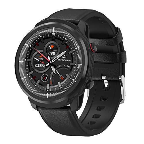 YDK S10 Smart Watch Herren- Und Frauen Sports wasserdichte Herzfrequenz Überwachung Wettervorhersage Watch Smartwatch Für Ios Android,A