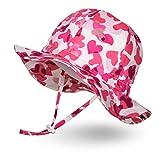 Ami&Li tots Unisex Child Adjustable Wide Brim Sun Protection Hat UPF...