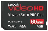 SanDisk SDMSPDHV-004G-A15 4GB Video HD MSPD Memory Card