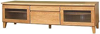 ISSEIKI テレビボード TVボード アルダー材(幅150cm)選べる3サイズ 木製家具 FL-11-3 (ALDER) テレビ台 ワイドサイズ 北欧家具 リビングインテリア