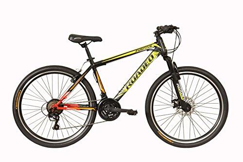 Hercules Roadeo Fugitive 27.5T 21 Gear Steel Hybrid Cycle (Black)...
