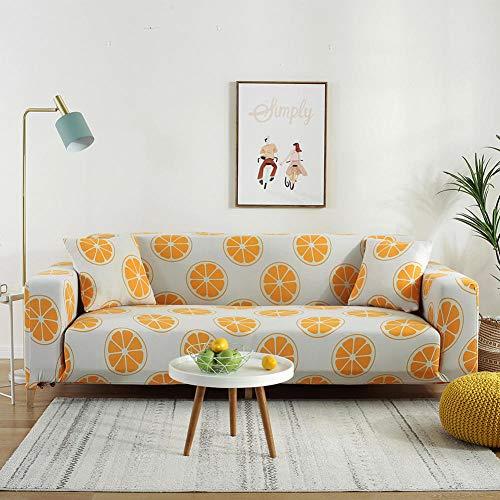 Cubre Sofa Universal Cubiertas de Sofa 2 plazas y 4 plazas, Funda de sofá elástica para Sala de Estar, Funda de sofá elástica, Fundas de sofá en Forma de L de una Sola sección, 2 Piezas