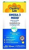 Country Life Omega 3 Mood - 90 Softgels