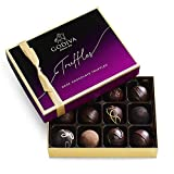 Godiva Chocolatier Dark Chocolate Truffles Assorted Chocolate Gift Box, 12-Ct.