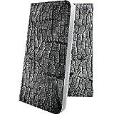 Nexus5 EM01L ケース 手帳型 木目 木目調 ウッド 木 wood 炭 墨 木炭 グーグル ネクサス ユニーク おもしろ おもしろケース Nexus 5 個性 11571-weosfn-10001304-Nexus 5