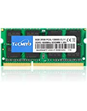 テクミヨ ノートPC用メモリ 1.35V (低電圧) DDR3L 1600 PC3L-12800 8GB×1枚 204Pin 対応