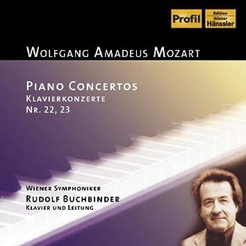 Mozart: Piano Concertos Nos. 22-23