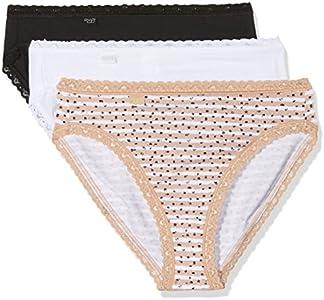 Sloggi Weekend Tai C3p Braguita, Multicolor (Skin - Light Combination S5), 42 para Mujer