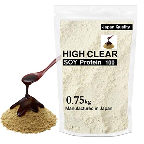 HIGH CLEAR 国産ソイプロテイン 黒蜜きなこ 750g(約30食分)