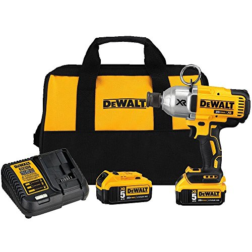 DEWALT DCF898P2R 20V MAX XR Brushless High Torque Impact Wrench Kit w/QR Chuck (Renewed)