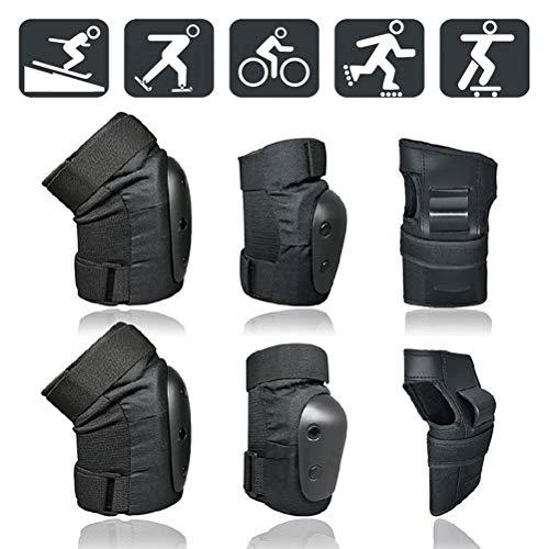 Auplew Protektoren Set, 6 Stück Kinder und Erwachsene Skateboard Protective Gear Balance Car Skates Protective Gear
