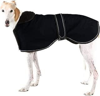 Morezi Waterproof Dog Jacket, Dog Winter Coat with Warm Fleece Lining, Outdoor Dog Apparel with Adjustable Bands for Medium, Large Dog