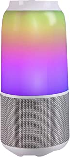 MZGX Wireless Bluetooth Speaker RGB Table Lamp Speaker IPX6 Waterproof Smart Led Light Music Player Audio (Color : WHITE)