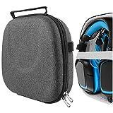 Geekria UltraShell - Funda para auriculares G430, G930, G230, G933S, G633, G633, G35 para videojuegos, bolsa de transporte de repuesto con espacio para accesorios (gris oscuro)