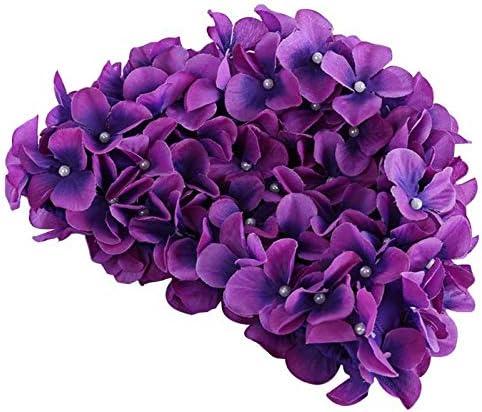 feichang Over item handling Women 3D Max 74% OFF Flowers Design Ladies Swimming Bath fo Cap