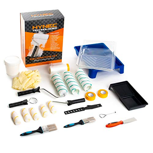 Hynec Technologies All in One Home Paint Kit - Paint Brush, Paint Tray, Roller Brush, Mini Rollers, Paint...