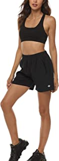 AIRIKE Womens Running Shorts Soft Sports Quick Dry Comfy Athletic with Pockets - Lightweight Petite Trunks for Women