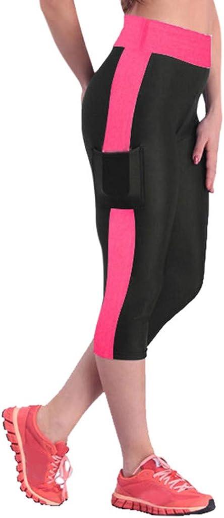 Maryia High Waist Workout Capri Leggings for Women Butt Lifting