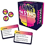 Gamewright Think 'N Sync - The Great Minds Think Alike Game Card Game, Multicolor, 5'