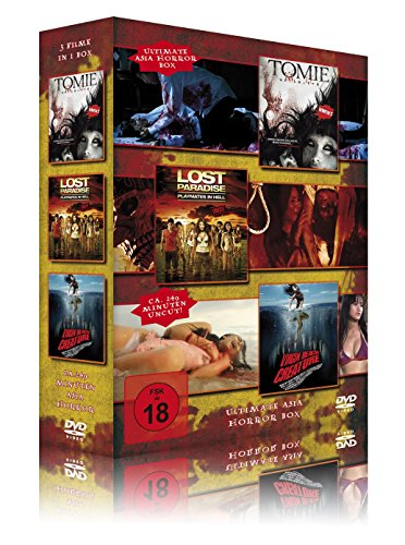 Ultimate Asia Horror Box (3er-Schuber: Tomie - Lost Paradise - Virgin Beach Creature) [3 DVDs]