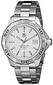 TAG Heuer Men's WAP2011BA0830 Aquaracer Silver Dial Watch image