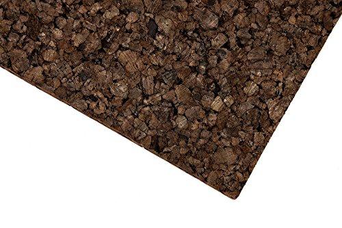 Terrarien-Rückwand aus Kork – 50 x 100 x 2cm ✓ 100% Naturkork ✓ Schadstofffrei ✓ Wasserfest   Korkrückwand, Zierkorkrückwand für Klettermöglichkeiten & zur Deko an der Terrarium-Wand - 2