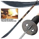 Armory Replicas Aged and Antiqued Japanese Samurai Warrior Naginata