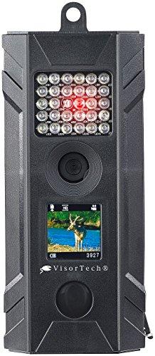VisorTech Tierkamera: HD-Überwachungs- & Wildkamera mit Nachtsicht, PIR, Farb-Display, IP54 (Tierkameras)