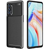 TECHGEAR Carbon Fibre Case for Oppo Reno4 Pro 5G