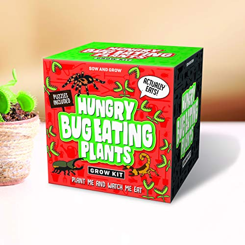 Gift Republic - Sow and Grow, kit voor de teelt van vleesetende planten