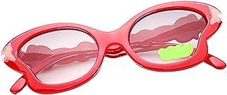 Kesoto 子供用 サングラス 眼鏡 夏用サングラス かわいい ちょうのスタイル ファッション眼鏡 UV400