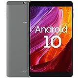 Tablet 8 Zoll Android 10, VASTKING SA8, 3GB RAM+32GB ROM, 512GB Erweiterbar, 1920x1200 FHD IPS, 13MP+5MP Kamera, Octa Core, Face ID, 2.4Gund5G WiFi, BT5.0, Blaulichtfilter, Metallgehäuse (Silbergrau)