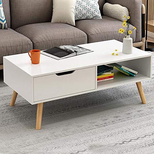 Soporte de TV genérico Angular bajo COF nd Ca Mesa de café lar bajo COF salón ng habitación Rectangular bajo Almacenamiento 1 cajón Estante