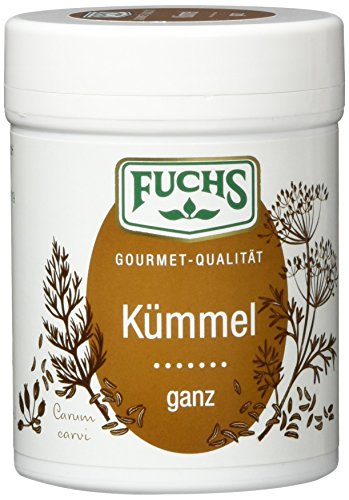 FUCHS Kümmel ganz, derb-würzige Kräuter (aromatisches Gewürz in Dose), 3er Pack (3 x 60 g)