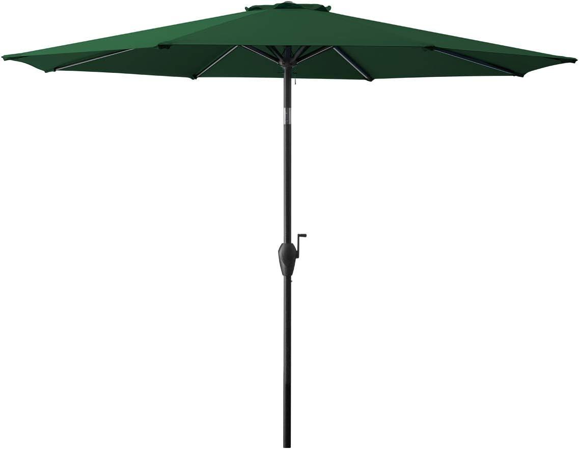 TUMUCUTE 10ft Ranking TOP15 Max 46% OFF Patio Umbrella Table Market Outdoor Umbre