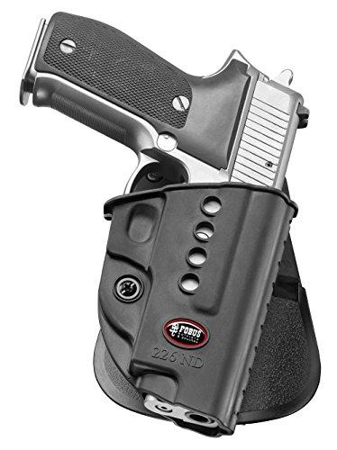 Fobus - Funda para pistola de retención oculta para Sig Sauer P220, P226, P226 MK25, P227, P228, P245, P225, con rieles / Norinco NC226 de polímero negro