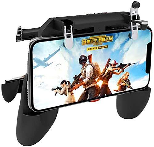 Miwaimao Manettes de jeu et manettes standard, 3 en 1 pour manette de jeu mobile PUBG pour téléphone portable, manette de jeu pour iPhone et Android