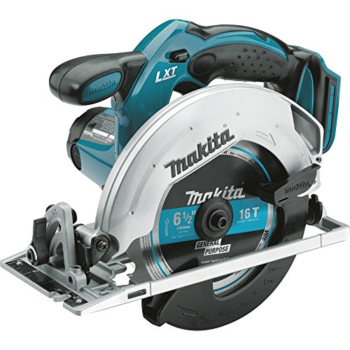 Makita XSS02Z 18V LXT Lithium-Ion Cordless 6-1/2' Circular Saw, Tool...