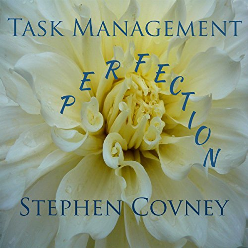 Task Management Perfection audiobook cover art