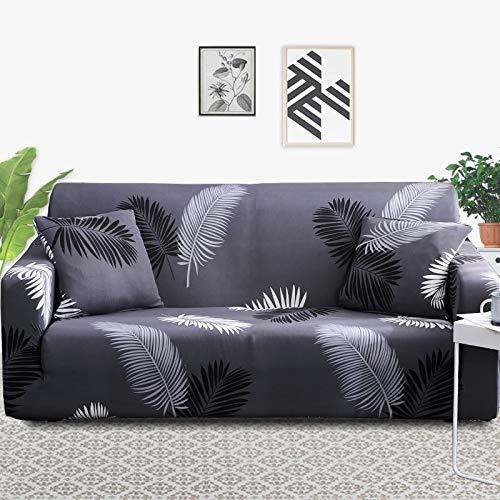 ASCV Stretch-Sofabezug Schonbezüge Elastische All-Inclusive-Couch-Hülle für Sofa in verschiedenen Formen Loveseat Chair L-Style Sofa-Hülle A17 3-Sitzer