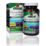 Nature's Answer Marine Based Calcium Magnesium, Super Concentrated 500mg   Plant Based   Red Algae & Seawater Derived   Alcohol-Free & Gluten-Free   Vegetarian Capsules 120ct