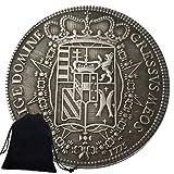 Jearls Monedas antiguas de níquel de 1775 de caballero antiguo de Italia - Moneda divertida del mundo - Moneda conmemorativa de recuerdos - Gran moneda romana para papá/amigos regalo favorito